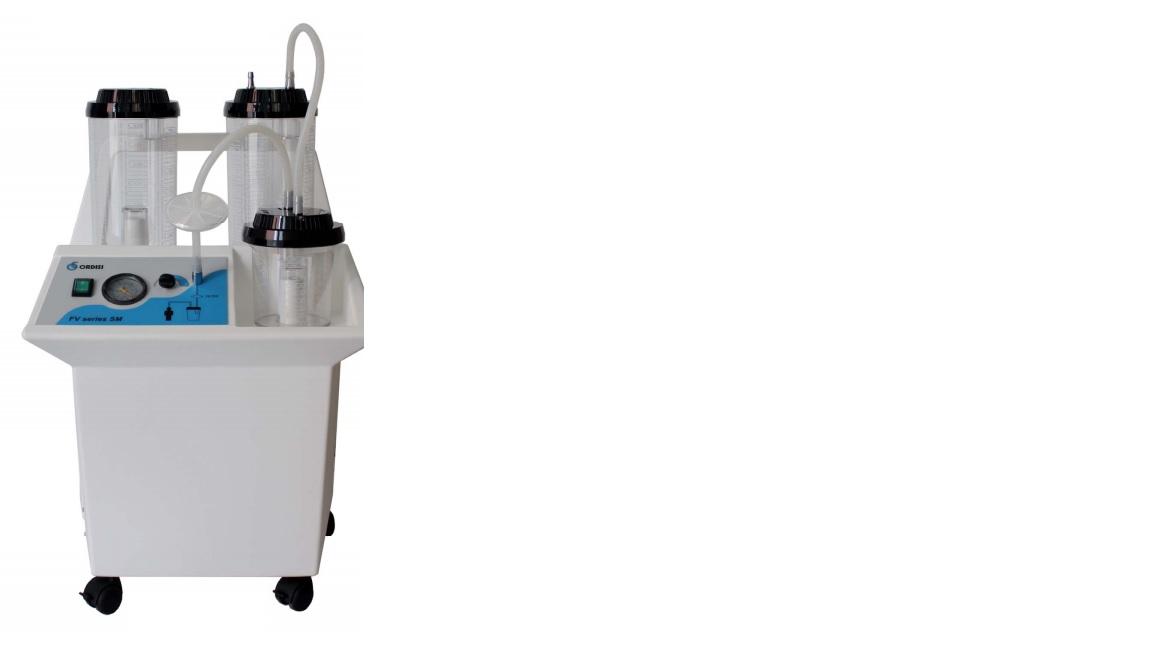 Máy bơm hút dịch dùng trong phẫu thuật Ngoại khoa loại 2 bình 3 lít + 1 bình 1 lít