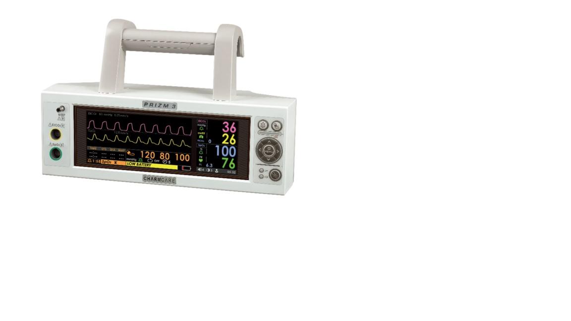 Monitor theo dõi bệnh nhân 04 thông số dùng cho xe cứu thương hoặc theo dõi đầu giường