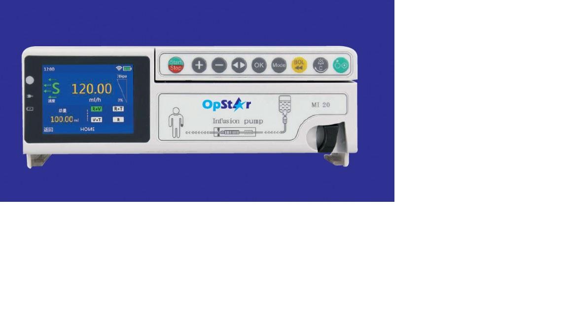 Máy bơm truyền dịch tự động với màn hình cảm ứng có thể xếp chồng lên nhau và linh hoạt