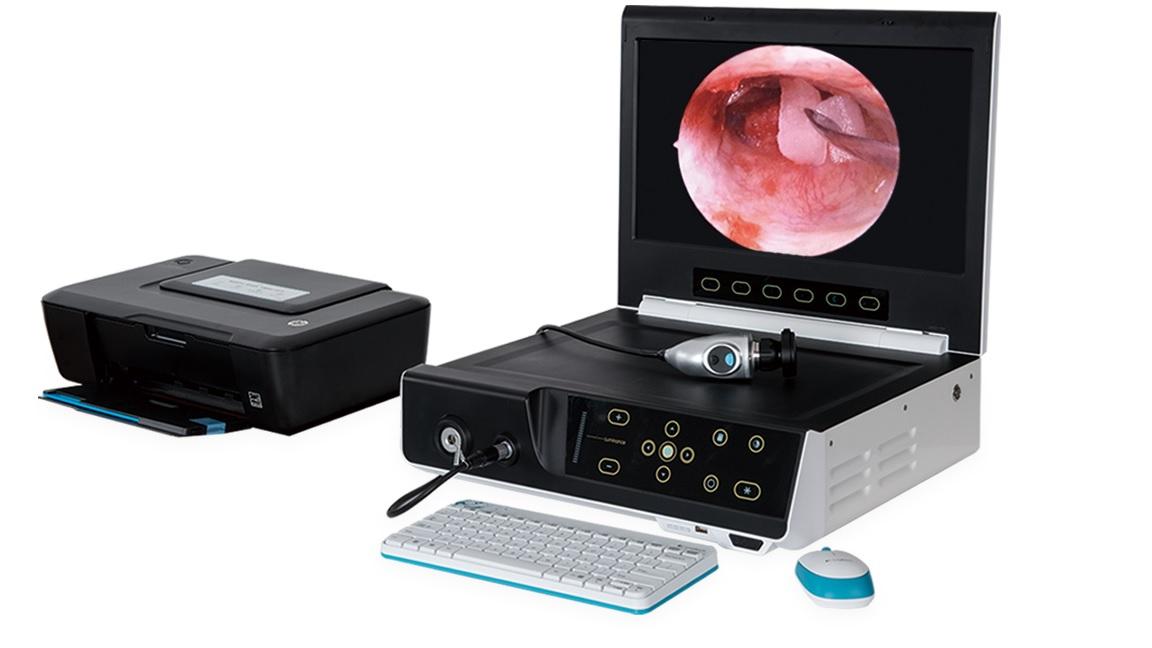 Hệ thống nội soi video di động các máy được tích hợp thành một khối gồm