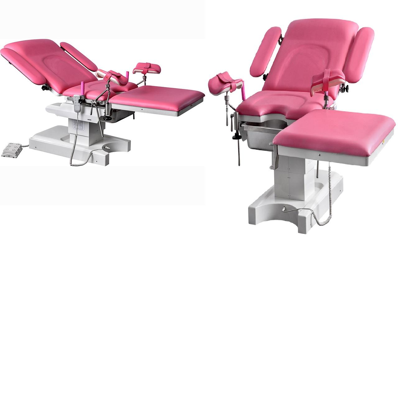 Bàn khám; Bàn sanh; Bàn phẫu thuật sản phụ khoa đa chức năng bằng điện thuỷ lực