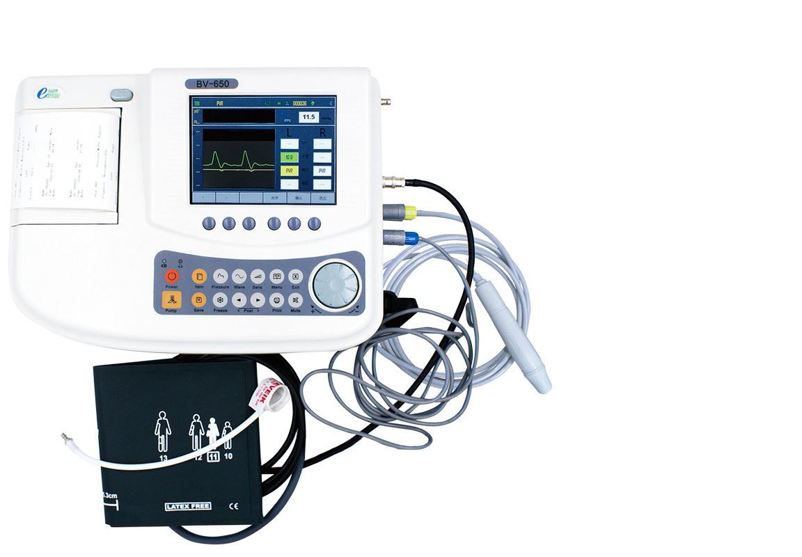 Máy Doppler mạch máu để kiểm tra ABI và TBI bằng siêu âm với chức năng đo huyết áp NIBP