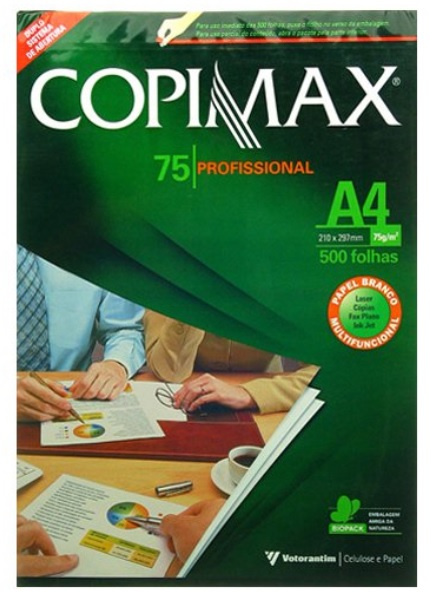 Giấy in A4 loại cao cấp Papel Copimax A4 75Gsm