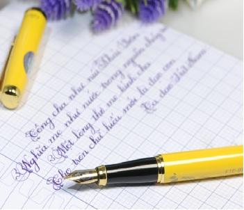 Bút máy luyện chữ