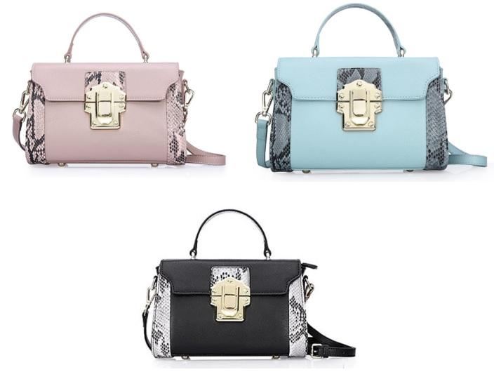 Túi xách nữ bằng da thật với thiết kế thời trang cao cấp kiểu cổ điển