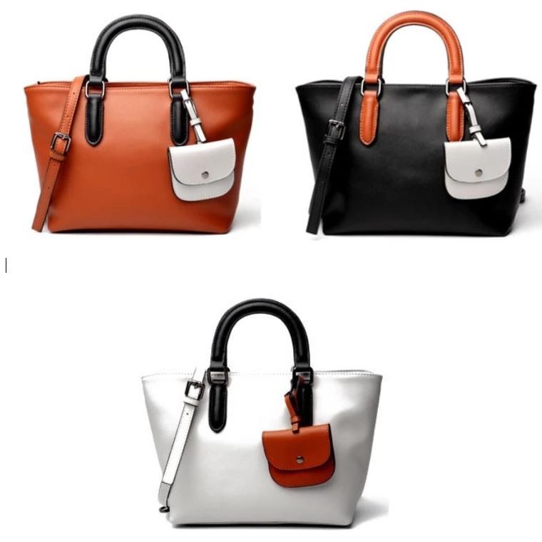 Túi xách da thời trang dành cho phụ nữ thiết kế phù hợp theo kiểu Châu Âu