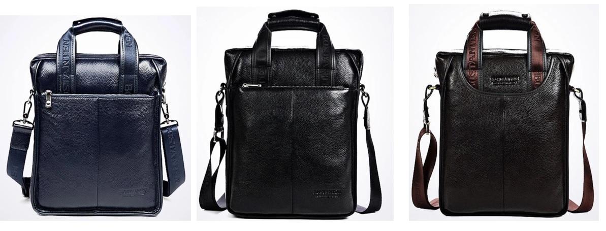Túi xách thời trang crossbody bằng da chính hãng dành cho nam giới