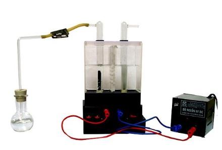 Bộ dụng cụ điện phân dd NaCl