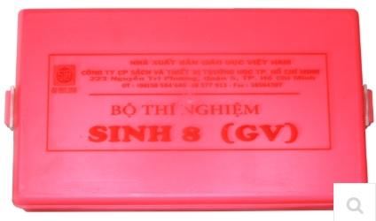 Bộ dụng cụ thí nghiệm thực hành sinh học 8 (gv)