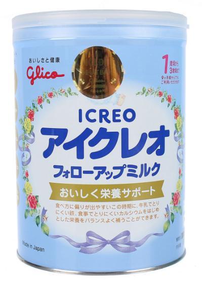 Sữa Sữa Glico 1 (Sữa đặc hiệu dinh dưỡng đặc chế bổ sung đầy đủ các vi chất dinh dưỡng, giúp bé phát triển toàn diện sức khỏe, não bộ và thể chất; dùng cho trẻ từ 9 tháng đến 36 tháng tuổi)