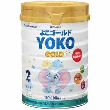 Sữa Yoko Gold 2 cho trẻ từ 12->24 tháng tuổi (Sữa đặc hiệu cung cấp dưỡng chất thiết yếu của trẻ, giúp tăng cường sức đề kháng và phát triển não bộ)