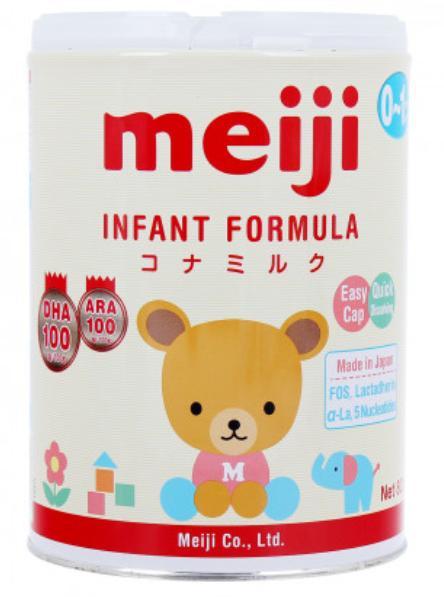 Sữa Meiji Infant Formula cho trẻ từ 0->01 tuổi (Sữa đặc hiệu dinh dưỡng đặc chế cho chế độ ăn của trẻ bị mất hoặc thiếu sữa mẹ, giúp hỗ trợ sự phát triển của trẻ theo sinh lý lứa tuổi)