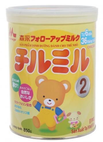 Sữa Morinaga 2 cho trẻ từ 06->36 tháng tuổi (Sữa đặc hiệu dinh dưỡng đặc chế bổ sung cho chế độ ăn thiếu đạm và vi chất dinh dưỡng, hỗ trợ sự phát triển các tố chất sức khỏe của trẻ theo sinh lý lứa t