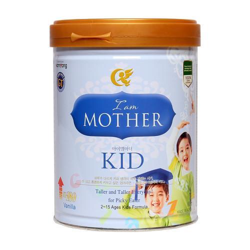 """Sữa """"I am Mother Kid"""" cho trẻ từ 02->15 tuổi (Sữa đặc hiệu giúp bổ sung bữa ăn cho chế độ ăn của trẻ, hỗ trợ sự phát triển các tố chất sức khỏe của trẻ theo sinh lý lứa tuổi)"""