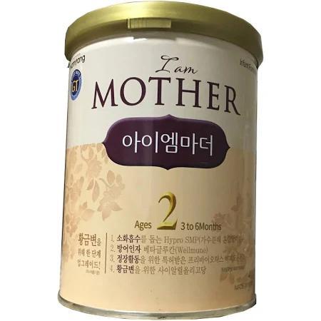 """Sữa """"I Am Mother 2"""" cho trẻ từ 03->06 tháng tuổi (Sữa đặc hiệu giúp phát triển não bộ, hỗ trợ tăng trưởng, tiêu hóa, tăng cường hệ miễn dịch khỏe mạnh)"""