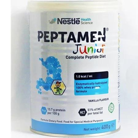 Sữa Peptamen Junior dùng cho từ 01 -> 10 tuổi (Sữa đặc hiệu dùng cho trẻ kém hấp thu, rối loạn hấp thu, suy dinh dưỡng)