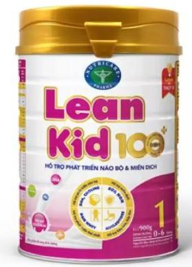 """Sữa LeanKid 100+ 1 (Sữa đặc hiệu dành hỗ cho trẻ phát triển não bộ và miễn dịch với hệ """"Nutri-Pro"""" dùng cho trẻ từ 0 -> 6 tháng tuổi;  ….)"""