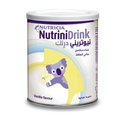Sữa NutriniDrink (Sữa đặc hiệu danh cho trẻ suy dinh dưỡng, kiệt sức và khó nhai nuốt cho trẻ em từ 01 tuổi trở lên)