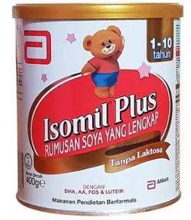 Sữa Isomil Plus (Sữa đặc hiệu dùng cho trẻ từ 01 đến 10 tuổi bị tiêu chảy và bất dung nạp Lactose hoặc Dị Ứng sữa bò)