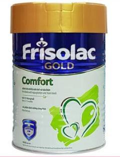 Sữa Frisolac Gold Comfort dùng cho trẻ từ 0 -> 12 tháng tuổi (Sữa đặc hiệu cung cấp dinh dưỡng công thức đặc biệt cho trẻ nhỏ gặp các vấn đề về tiêu hóa, nôn trớ, táo bón)