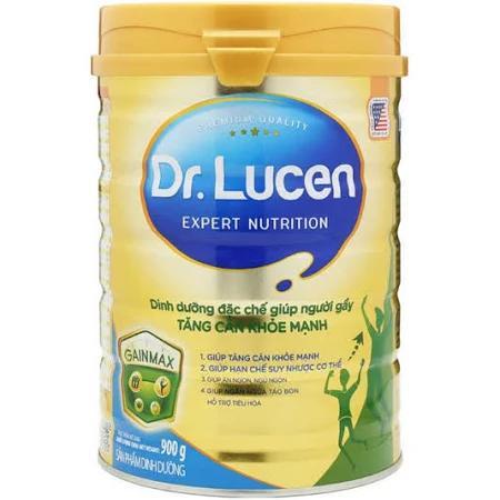 Sữa Dr. Lucen GainMax (Sữa đặc hiệu chuyên biệt đặc chế cho người gầy; giúp người gầy tăng cân khỏe mạnh và hạn chế suy nhược cơ thể)