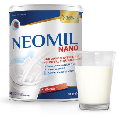 Sữa Neomil Nano (Sữa đặc hiệu chuyên biệt chuyên biệt cho bệnh nhân phẫu thuật và cho phụ nữ sau sinh mổ)