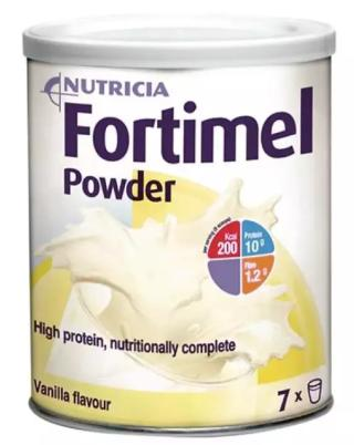 Sữa Nutricia Fortimel Powder (Sữa đặc hiệu dành cho bệnh nhân sau phẫu thuật; cho người cao tuổi, bệnh nhân suy dinh dưỡng)