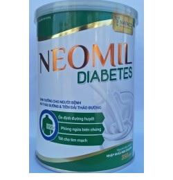 Sữa Neomil Diabetes (Sữa đặc hiệu dành cho bệnh nhân đái tháo đường; tiền đái tháo đường;  ….)
