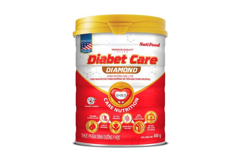Sữa Diabet Care Diamond (Sữa đặc hiệu dành cho bệnh nhân đái tháo đường và tiền đái tháo đường)