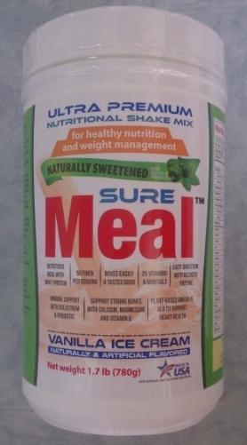 """Sữa """"Ultra Premium SureMeal Vanilla Ice Cream"""" (Sữa đặc hiệu dành cho người dùng bị đái tháo đường, bổ sung đầy đủ vitamin & khoáng chất thiết)"""