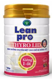 Sữa Lean Pro Thyro Lid (Sữa đặc hiệu chuyên biệt dành cho người bị bệnh tuyến giáp trong chế độ ăn kiêng i-ốt)