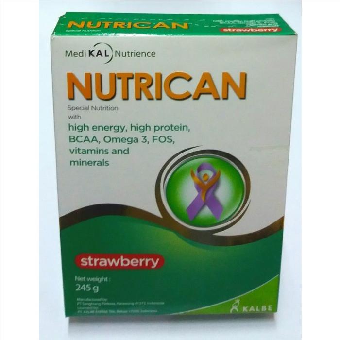 Sữa Nutrican (Sữa đặc hiệu dành cho bệnh nhân mắc các bệnh mạn tính bị sụt cân, biếng ăn, Ung Thư)
