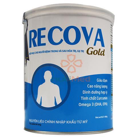 Sữa Recova Gold (Sữa đặc hiệu cho bệnh nhân Ung Thư trong và sau quá trình Hóa trị, Xạ trị, Sinh học)