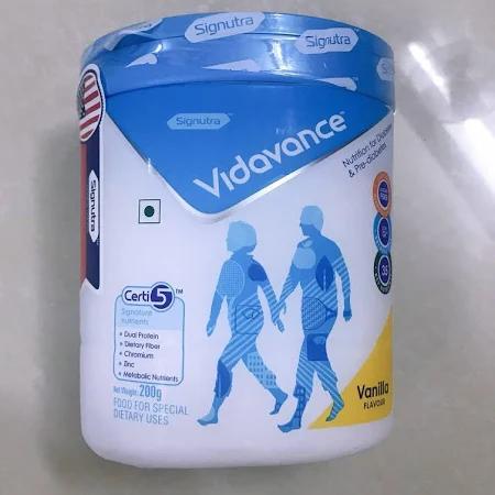 Sữa Vidavance (Sữa đặc hiệu dành cho người bệnh đái tháo đường; tiền đái tháo đường)