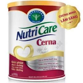 Sữa NutriCare Cerna (Sữa đặc hiệu dành cho người bệnh đái tháo đường; tiền đái tháo đường)
