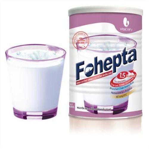 Sữa Fohepta (Sữa dinh dưỡng dành cho bệnh nhân Gan)