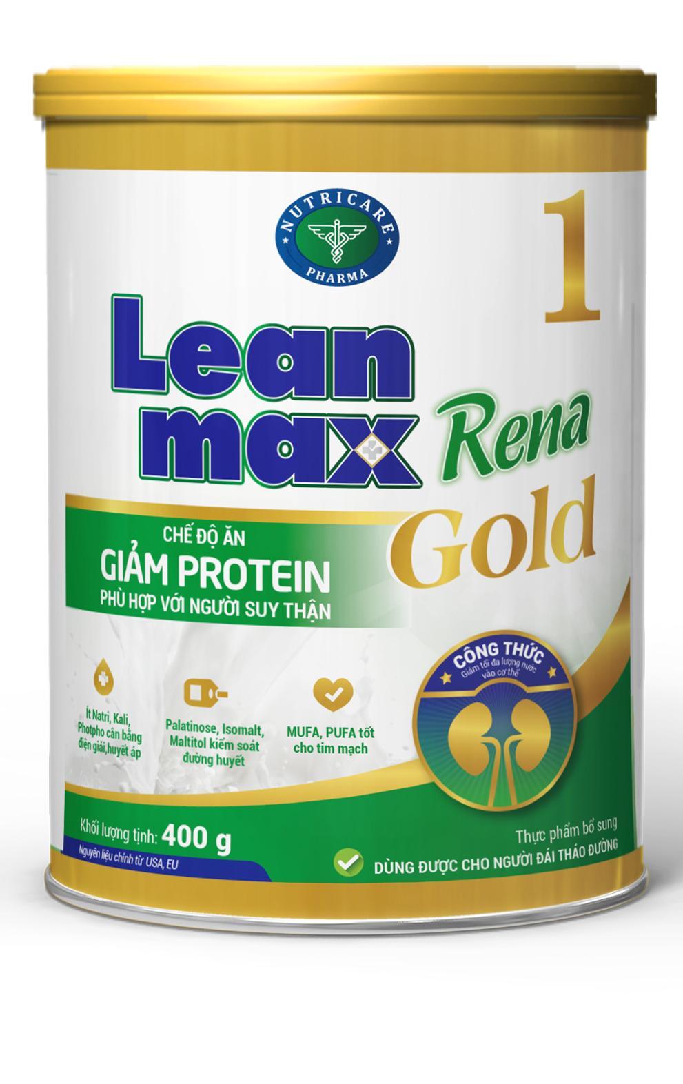 Sữa Leanmax Rena 1 Gold (Sữa đặc hiệu dành cho người bệnh suy thận)