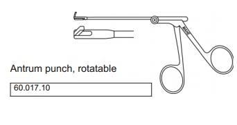 Kềm cắt ngược hang vị có phép có thể xoay lên; xoay phải; xoay trái