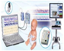 Máy đo điện não đồ cho trẻ em đa chức năng (đo điện não đồ; đo điện tim; đo SpO2; …)