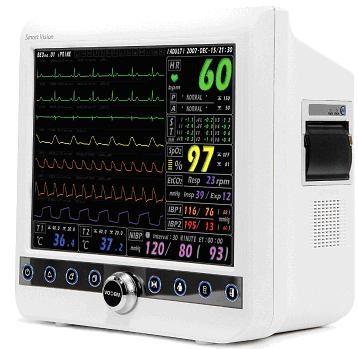Máy theo dõi bệnh nhân đa thông số với màn hình cảm ứng