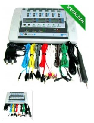 Máy châm cứu điện tử kỹ thuật số đa chức năng với 06 kênh
