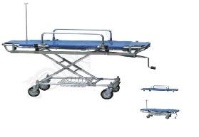 Băng ca cấp cứu 01 tay quay có thể điều chỉnh chiều cao & tháo rời